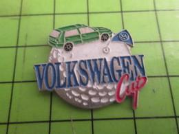 511A Pin's Pins /  Belle Qualité Et Rare / THEME AUTOMOBILE : GOLF VW VOLKSWAGEN CUP - Volkswagen