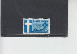 BRASILE 1960 - Yvert  A 88° - Congresso Battista - Religione - Brasile