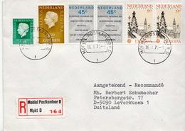Postal History Cover: Netherlands R Cover Mobiel Postkantoor D - Period 1949-1980 (Juliana)