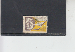 BRASILE 1960 - Yvert  699° - Expo - Brasile