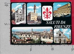 CARTOLINA VG ITALIA - Saluti Da FIRENZE - Vedutine Multivue - 10 X 15 - ANN. 1976 TAVERNELLE VAL DI PESA - Saluti Da.../ Gruss Aus...