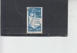 BRASILE 1960 - Yvert  697° - Volley - Sport - Brasile