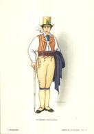"""1879"""" -SERIE I FUMATORI-SVIZZERO-UNTERWALDEN- STAMPA PROPAGANDA LOFARMA  """"  STAMPA ORIGINALE - Pubblicitari"""