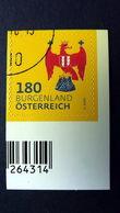 Österreich 3414 Oo/ET, Dauerserie 2018: Wappen Burgenland - 1945-.... 2. Republik