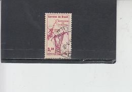 BRASILE 1961 - Yvert  A 93° - Barrage - Brasile