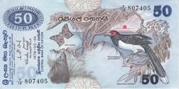 BILLETE DE SRY LANKA DE 50 RUPEES DEL AÑO 1979 EN CALIDAD EBC (XF)(BANKNOTE) - Sri Lanka