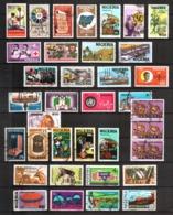 Nigeria, Lot Of 36 Used Stamps - Nigeria (1961-...)