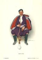 """1880"""" -SERIE I FUMATORI-GRECO-CRETA- STAMPA PROPAGANDA LOFARMA  """"  STAMPA ORIGINALE - Pubblicitari"""