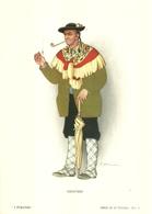 """1881"""" -SERIE I FUMATORI-GENOVESE-STAMPA PROPAGANDA LOFARMA  """"  STAMPA ORIGINALE - Pubblicitari"""