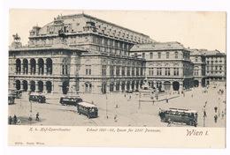 Cartolina - Postcard / Non Viaggiata - Unsent / Wien – Hof-Operntheater - Vienna