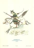 "1882"" -SERIE ARMI E CAVALIERI-GIAPPONE-SAMURAI IN TENUTA DI GUERRA-1740- STAMPA PROPAGANDA LOFARMA ""  STAMPA ORIGINALE - Pubblicitari"