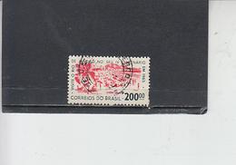BRASILE 1964 - Yvert  761° -  EM 65 - Brasile