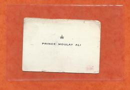 Carte De Visite Cdv  Prince Moulay Ali Maroc Rabat - Cartes De Visite