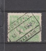 COB 102 Oblitéré MONTZEN - 1915-1921