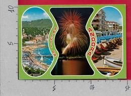 CARTOLINA VG ITALIA - Saluti Da ANDORA (IM) - Vedutine Multivue - 10 X 15 - ANN. 1976 MARINA DI ANDORA - Saluti Da.../ Gruss Aus...