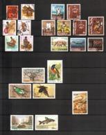 Zambia, Lot Of 22 Used Stamps - Zambia (1965-...)