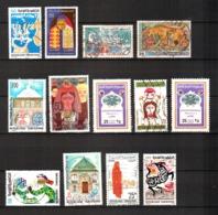 Tunisia, Lot Of 13 Used Stamps, Tunisie - Tunisia (1956-...)
