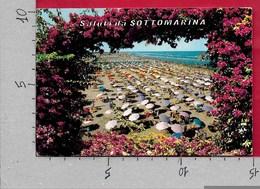 CARTOLINA VG ITALIA - Saluti Da SOTTOMARINA (VE) - La Spiaggia - 10 X 15 - ANN. 1972 - Saluti Da.../ Gruss Aus...