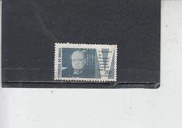 BRASILE 1965 - Yvert  777° - Cgurchill - Brasile