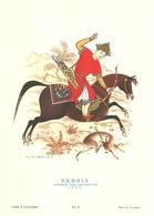 "1885"" -SERIE ARMI E CAVALIERI-PERSIA-BAHRAM GUR CACCIATORE-1560-STAMPA PROPAGANDA LOFARMA  ""  STAMPA ORIGINALE - Pubblicitari"