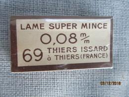 "Paquet De Lames De Rasoir Scellé""Thiers"" - Lames De Rasoir"