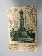 CARTOLINA TRENTO - MONUMENTO A DANTE - Trento