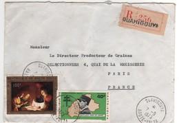 Timbres Poste Aérienne Yvert N° 95 = 113 Sur Lettre  Recommandée De Ouahigouya Du 07/09/1973 , TB - Haute-Volta (1958-1984)