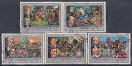 Comores N°133 / 37 O Bicent. De L'indépendance Des Etats-Unis. La Conquète De L'Ouest  Les 5 Val Oblité. Légères, TB - Comores (1975-...)