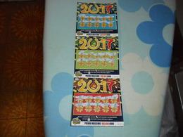 Biglietti   GRATTA E VINCI   2O17  STRISCIA COMPLETA 3 - Biglietti Della Lotteria