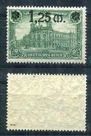Deutsches Reich Michel-Nr. 116I Postfrisch - Geprüft - Unused Stamps