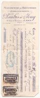 Chèque  Paulus & Jouy Manufacture De Bonneterie à Caen Du 5 Septembre 1931 - Chèques & Chèques De Voyage