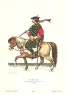 """1888""""-SERIE ARMI E CAVALIERI-SCOZIA-CAVALIERE DEL CLAN MACNEILL -STAMPA PROPAGANDA LOFARMA"""" STAMPA ORIGINALE - Pubblicitari"""