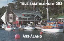 ALAND ISL. - Boats, ASS ALAND, No BN, Tirage %12000, 09/94, Used - Aland