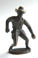 Rare FIGURINE KINDER  METAL COW BOYS 1 70's - U-EI Cowboys (1) - Figurines En Métal