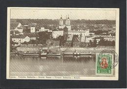 CPA Lituanie Lituania Circulé KAUNAS LITHUANIA - Litauen