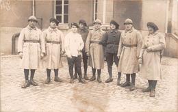 ¤¤  -  Carte-Photo Militaire Non Située   -   Soldats  -  Chasseurs ??  -  ¤¤ - Guerre 1914-18