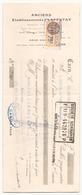 Chèque Ets Laffetay Denrées Coloniales Vins & Spiritueux à Caen Du 16 Septembre 1931 - Chèques & Chèques De Voyage