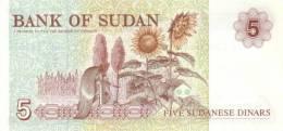 SUDAN P. 51a 5 D 1993 UNC - Soudan