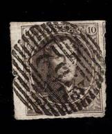 10c N°10   4 Marges Et Bord De Feuille G Et Voisin à DR - 1858-1862 Medaillons (9/12)