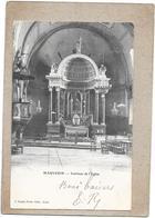 MAUVEZIN - 32 - CPA DOS SIMPLE - Intérieur De L'Eglise - DELC6 - - France