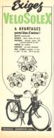 "PUB  "" VELOSOLEX  ""  1954 ( 6 ) - Transports"