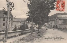 55 - SAINT-MIHIEL - Route De Commercy Et Quartier Des Chasseurs à Cheval. - Saint Mihiel