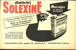 """PUB  """"  SOLEXINE  """"  1954 ( 5 ) - Transports"""
