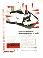 """PUB     """" FORMICA  """"  1954 ( 1 ) - Autres Collections"""