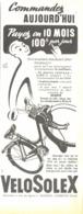 "PUB  ""  VELOSOLEX ""  1954 ( 7 ) - Transports"