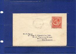 ##(DAN1812)-Postal History-Papua 1938-  Cover To New Zealand - Papua Nuova Guinea