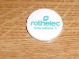 TC5 / JETONS DE CADDIES : Rothelec ( Verso Viège , Plastique )     SUP - Jetons De Caddies