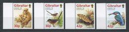 GIBRALTAR 1999 N° 853/856 ** Neufs MNH Superbes C 8 €  EUROPA Faune Oiseaux Martin Pêcheur Poissons Perches Animaux - Gibraltar