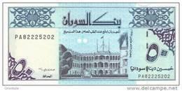 SUDAN P. 54d 50 D 1992 UNC - Sudan