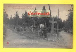 CPA  68 ¤¤ LE BONHOMME ¤¤ Cimetière ALLEMAND Personnage Près Du Lac Blanc  ¤¤ Guerre 1914 -18 Militaria - France
